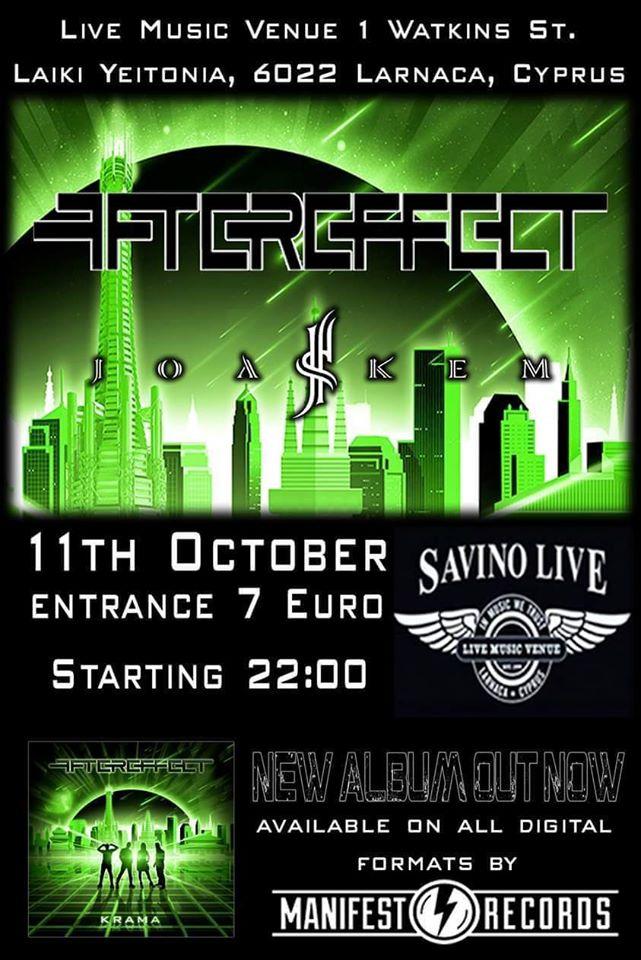 Aftereffect & Joakem @Savino Live, Larnaca